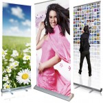 Make a big impression with pull up banners!