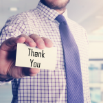 Say it with a thank-you card – and grow your business!
