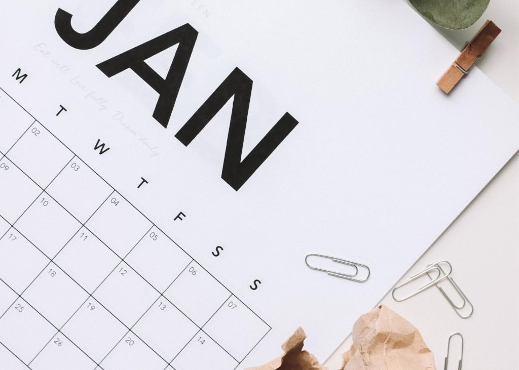 making a calendar