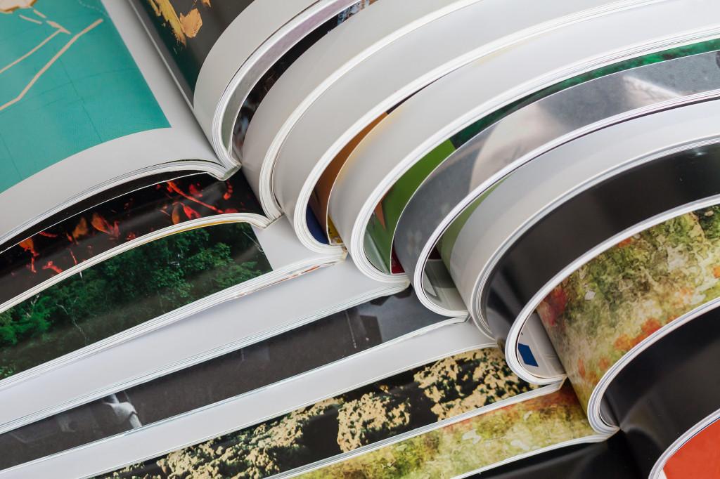 types of brochure printing