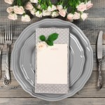 Top tips for wedding menu printing