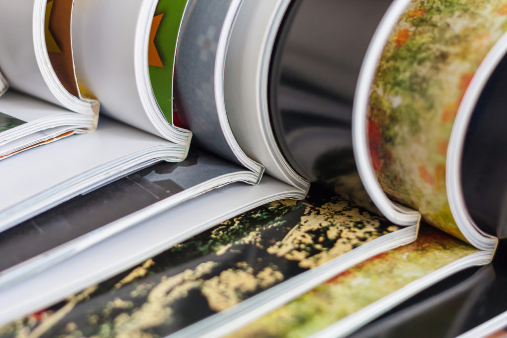 different types of booklet printing
